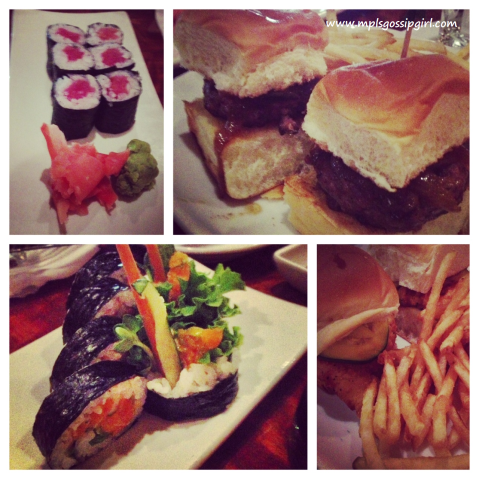 Crave Downtown Minneapolis Sushi Burgers