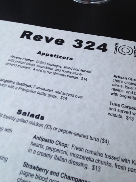 Reve 324, Stillwater, Minnesota, Food, Restaurants