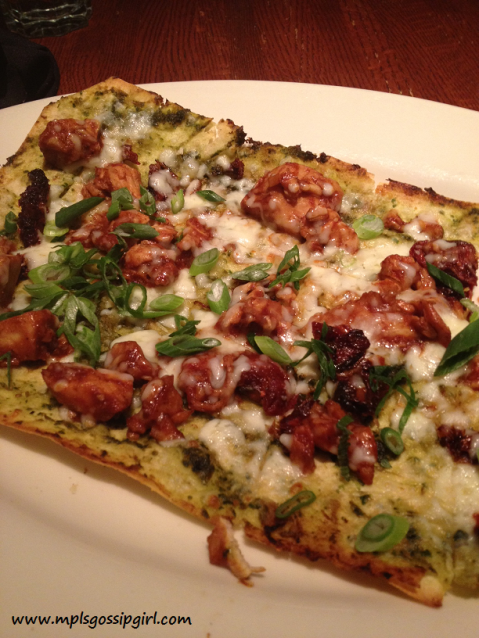 Twin City Girll, Flat Bread Pizza