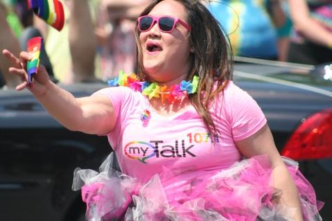 Alexis, FM107, MyTalk 107, Pride,