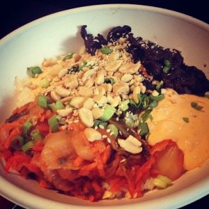 YumYum Bowl, World Street Kitchen, Spicy