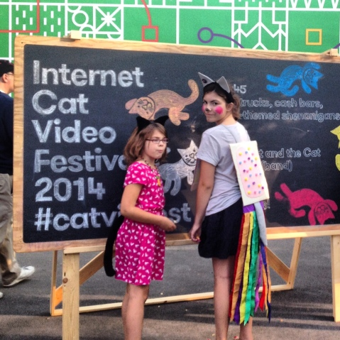 Great Costumes at the #CatVidFest
