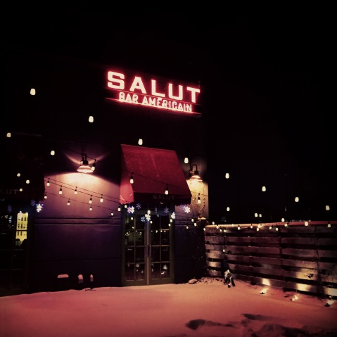 Salut on Grand Ave.