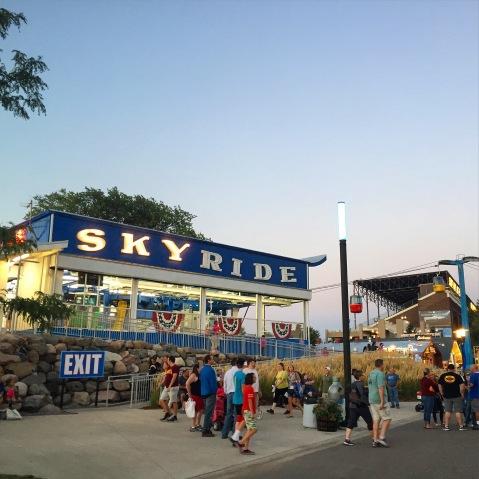 Sky Ride Minnesota State Fair